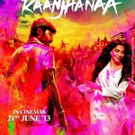 Here's the first poster of #Raanjhanaa...