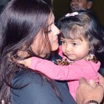 Aaradhya Bachchan: Boots, leopard print; she's quite the little fashionista! for gallery    >> http://t.co/0hMLkuTOjF