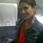 Dubai, @SunnyLeone is on her way to dubai with the @Shootoutwadala team !