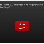 RT @beastoftraal: YRF took down that Challa - Shredded video!! YRF, you humorless piece of junk - you lose!