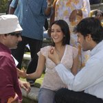 RT @SammirDattani: with the very pretty & talented @raimasen on the sets of #Mukhbir #oldmemories