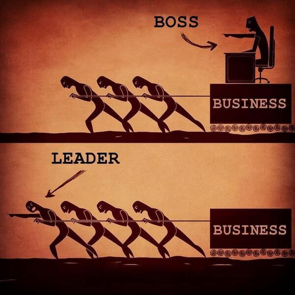 Leader versus Boss. http://t.co/ZexmetKJRw