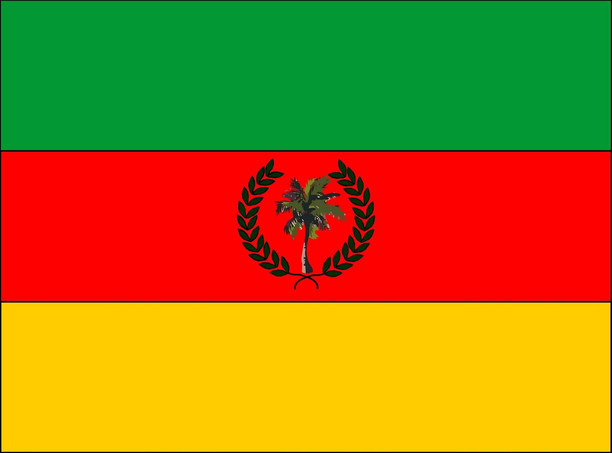 Esta es la Bandera del Municipio Ayacucho - Colón - Estado Táchira. http://t.co/hK5JEtjCTv