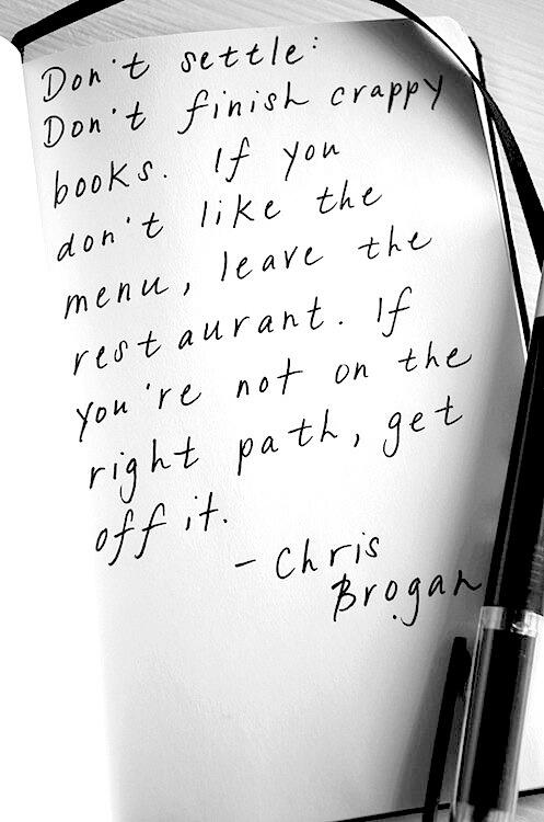 Don't settle: http://t.co/GjpXwk7nkU