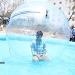 RT @sillijo: @actor_Nikhil That is so funny, Nikhil you in a Waterball :):) WOW!!