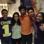 #Aashiqui2: The winners celebrate. It's raining love!