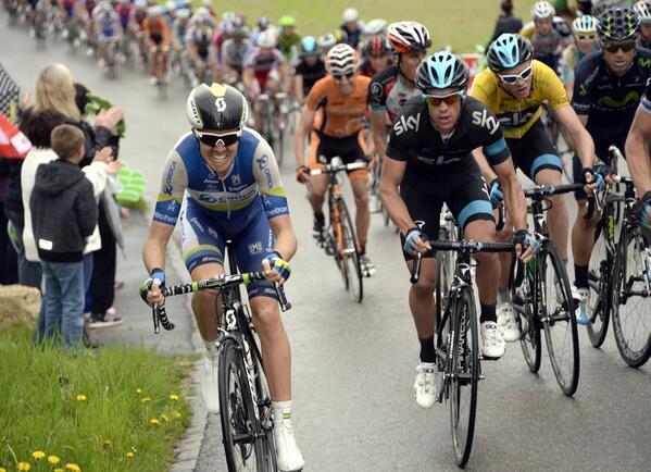 Tour de Romandie: Meersman wins again but Sky controls Stage 3. Queen stage is on Saturday. UCI #WorldTour #TDR2013 http://t.co/w0P0ELDF8i