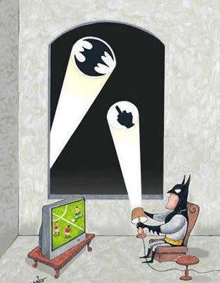 RT @Dark_Messiah_: Pour Batman aussi c'est jour férié http://t.co/wJ7VPnfNoX