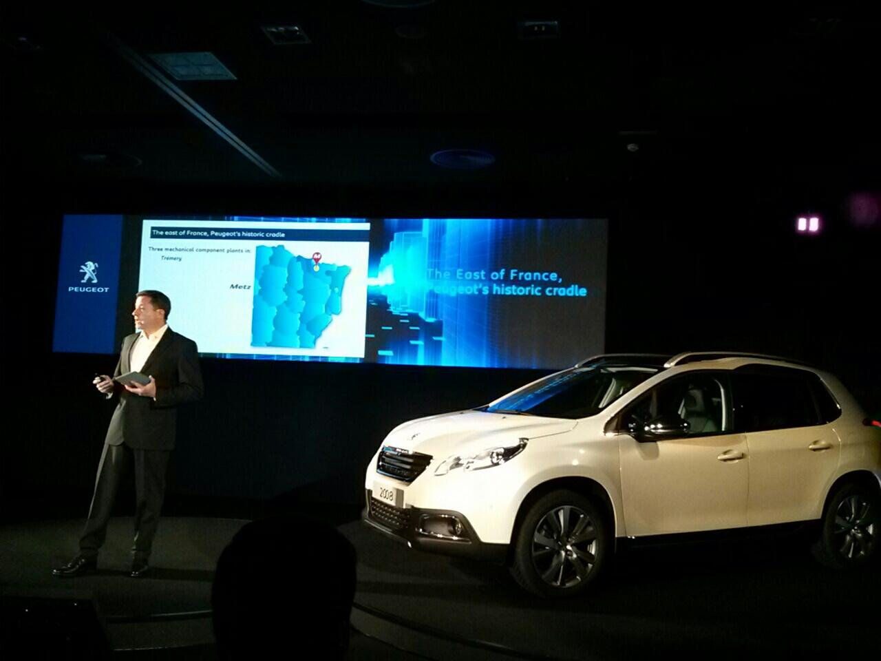RT @ClaveroD: @PeugeotES ha conseguido desarrollar y comercializar el nuevo 2008 en sólo 3 años @diariomotor http://t.co/AnTansYFy1