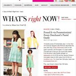 Thank you @ZooeyDeschanel for being so adorable in @JSCollection! #InStyle http://t.co/r8rh1dOBpM