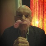 It is rumored that this happened yesterday…#bydhttmwfi   RT @SirPatStew: Self portrait with candy floss