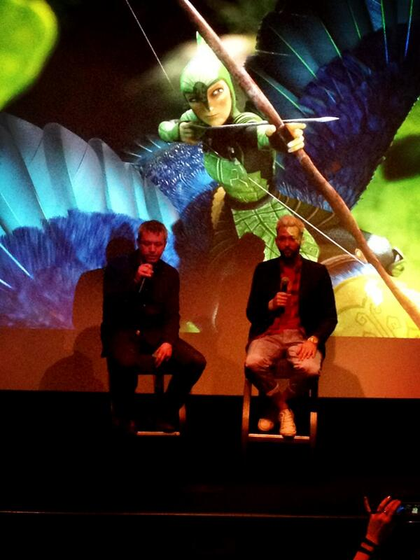 RT @styledelights: Jaw dropping design details in #EpicTheMovie Great chat wth art dir Michael Knapp about his vision of @EpicTheMovie http://t.co/GhNVWDvNvh