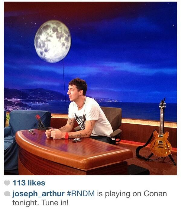 RT @RNDMBAND: Tune in to tonite to catch our #RNDM beef with @ConanOBrien! http://t.co/l3KH2VOTLv