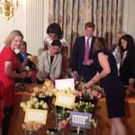 Prince Harry meets military families at Michelle Obama-hosted White House event http://t.co/QK2qOzDgxD & picture