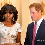 RT @BBCNews: PHOTO: Prince Harry and Michelle Obama at a White House reception http://t.co/M3anBXIBZ6