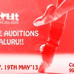 RT @Strut_Dance: To register ur name for the auditions & for more info,call 9591803767!