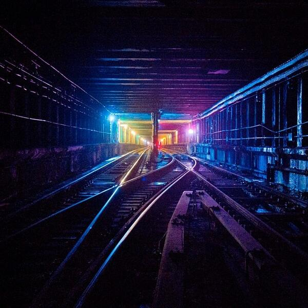 Candy coated tunnels #Mta #subway #subwaytunnel  #trackwalking #tunnelhopping #Lower http://t.co/RSic1LP0q4