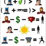 RT @katupoochi: Mathematics on #Superheros ;) @Premgiamaren