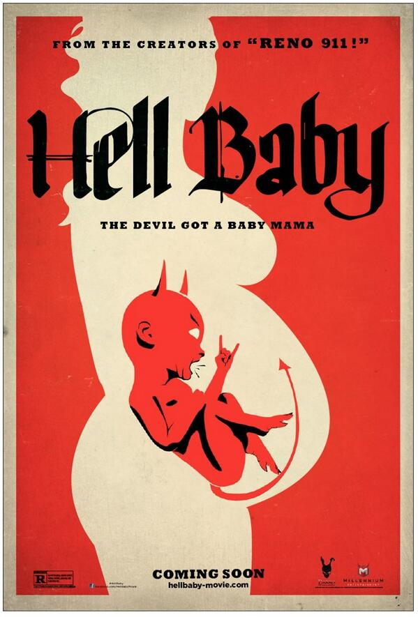 RT @mslesliebibb: I'm obsessed with this poster, @thomaslennon @robcorddry @KeeganMKey!!! LOVE IT!! #HellBaby http://t.co/fnoOkeNKm8