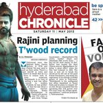 Hyderabad Chronicle.. today. :)