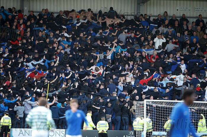 Flares & Ripped Seats: Old Firm rivalry reignited at Rangers v Celtic U17 Glasgow Cup final
