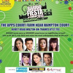 """@JgreyJ: Kim Chiu and Xian Lim at 29th Barrio Fiesta sa London - July 20, 2013 (Saturday) http://t.co/RiXQlQFZ8i"" Waaahh @chryxi28 thisIsIt"