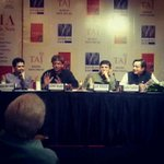 RT @sudhirtailang: Panel discussion @ShashiTharoor book INDIA.