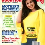 RT @AyeshaTakiaLove: @Ayeshatakia on GoodHousKeeping mag cover...