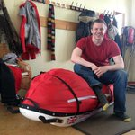 Picture: Philip Goodeve-Docker, Briton who died on 400-mile trek across Greenland's ice sheet http://t.co/BfbJQRckEB