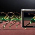 The NX300: the only camera fast enough for superstar athlete Usain Bolt