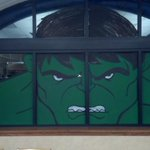 RT @mukite2: @AgentM  Northlake Library's Hulk window http://t.co/UPdE2opq5T to help get the hulk statue.