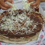 En #Oaxaca, las Tlayudas se preparan con una de las 59 variedades de maíz que existen en #México: El criollo bolita http://t.co/kQgmxAYytj