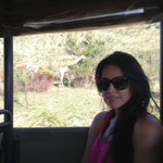 Tweeting from a South African safari ... Beautiful day ! Spotted the big five!