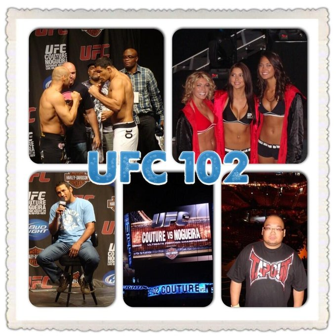 @ufcfightclub #FCtbt 1st UFC event was 102 Couture vs Nogueira in Portland, OR. http://t.co/pFGadsxw1J