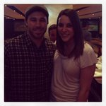 Photobombed by @VinnieP52  #ftw #sorryleah RT@LeahEFry: Met my favorite Cleveland Indian tonight @TheJK_Kid