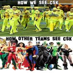 RT @katupoochi: This s how we CSK fans and other team see #CSK :) @ChennaiIPL @Premgiamaren #whistelpodu