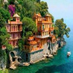 RT @ThatsEarth: Seaside homes of Portofino, Italy