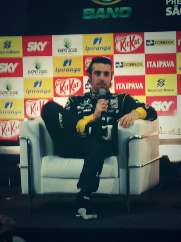 """""""We'll just keep plugging away day by day to get back up there."""" - @dariofranchitti #IndySaoPaulo #IndyCar http://t.co/E6hcLdSmYu"""