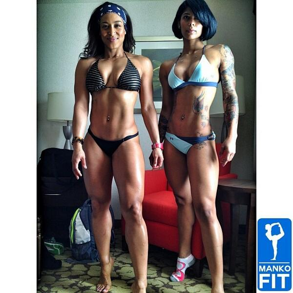 """@FukShotFit: Uh Oh Somebody In Trouble.... Double Trouble  @FollowTheLita & @mankofit http://t.co/QFbM3Htb3u""  #fitLUV #sexymuscle"