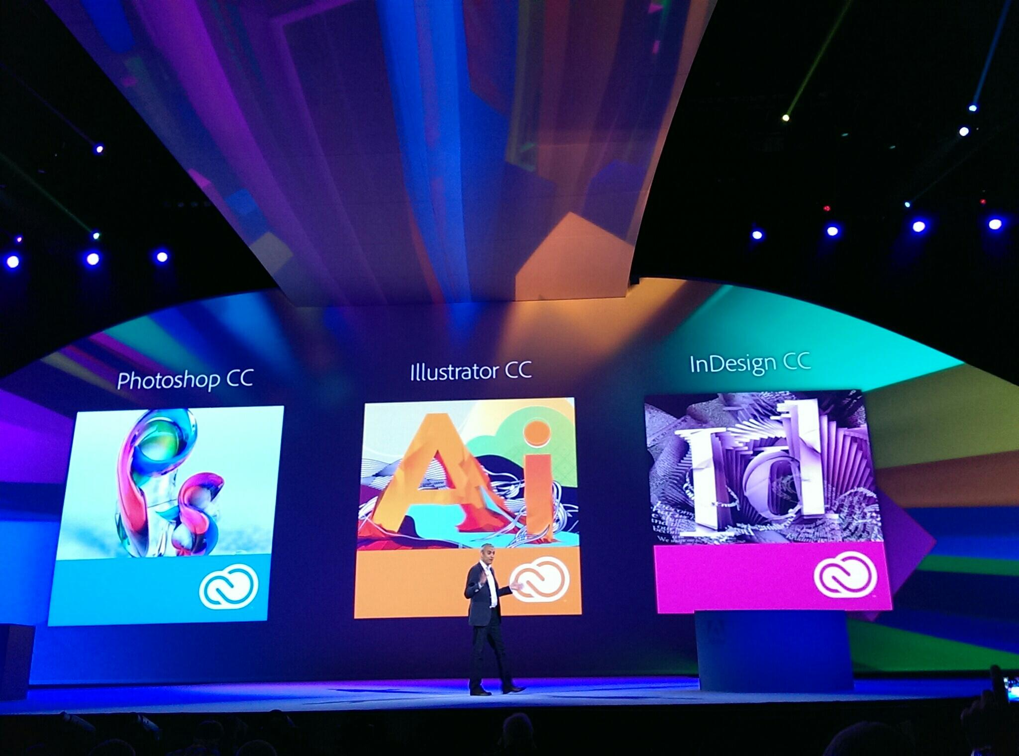 RT @Adobe: Today we announce the rebrand of our creative tools. We're renaming them CC. #AdobeMAX http://t.co/qG7ShzRDyZ