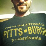 #blackandgold and who's wearing his favorite Pittsburgh shirt? http://t.co/hWMIbwD9Ct