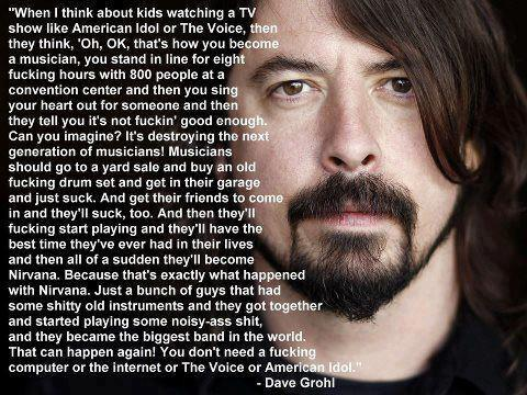 Dave Grohl Kurt Cobain Quote Kurt Cobain Quotes Wiki