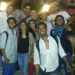 With part of the Act one theatre group.. Been working with these guys in Delhi for over 3 months.. By far, the most.. http://t.co/9C56qmxeVp