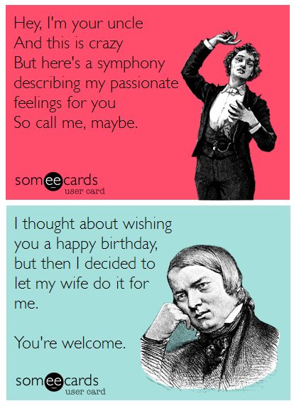 Alternately, we've created these two birthday cards for two of the least lucky-in-love composers. http://t.co/RzsDeXNEa1