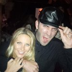 @MichaelUtsinger @stephaniepratt texted me a great pic of you two @ Teddy's last night!