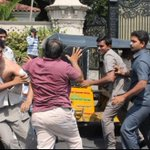 Here is photos pf Actor Ram Charan's Men Attack Car Driver In Hyderabad http://t.co/xpomkHSy6W