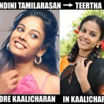 Chandini's makeover from wannabe copywriter to a raw actress in Kaalicharan http://t.co/8jEWHpejZm