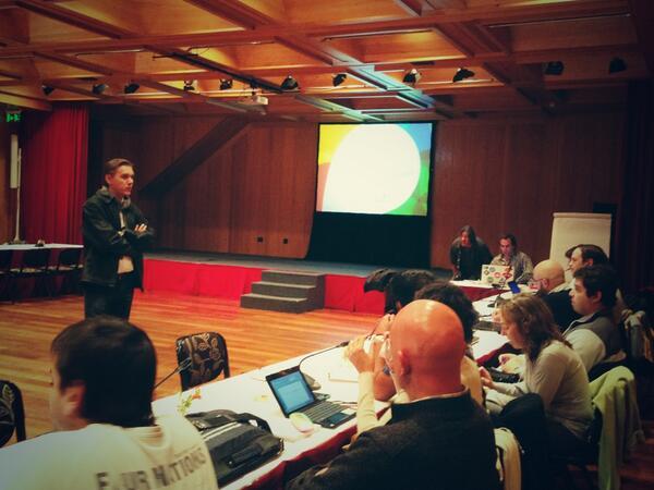 Panel de Actores destino #Bariloche con el secretario de turismo Fabián Szewczuk #OMT #OMTArg13 #UNWTOThemis http://t.co/VsAhmXURdF