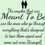 I dedicate this to my parents and to all other couples who sticked together through thick and thin... ☺