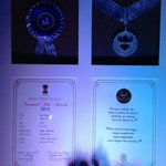 The National award.. http://t.co/i37xbUovWF